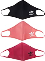adidas Face Covers, 3-pack, Unisex Adult, Wild Pink/Hazy Rose/Black