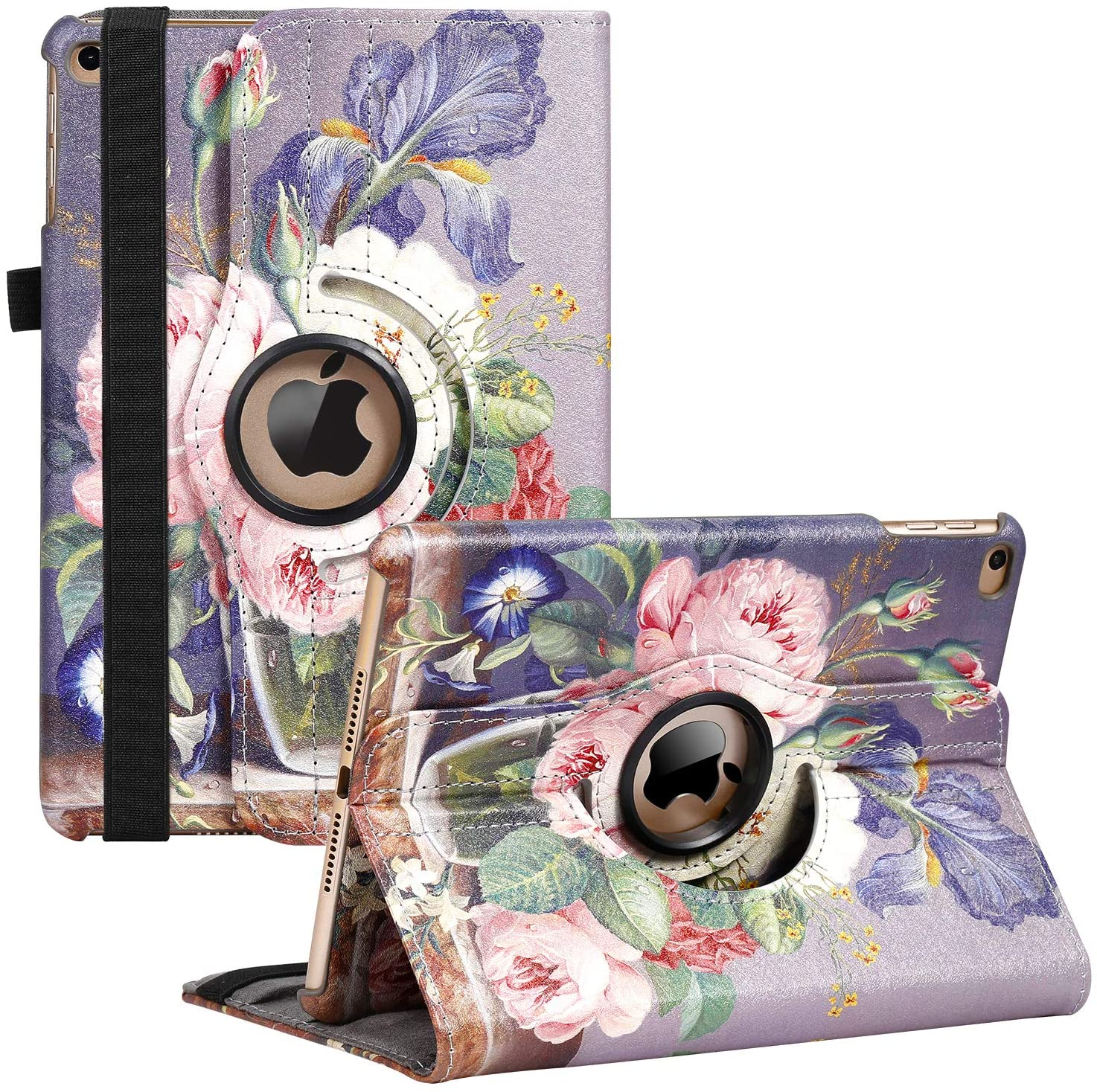 iPad Mini 1 Branded goods 2 3 Case - Rotating Stand Degree Cover with New Free Shipping 360