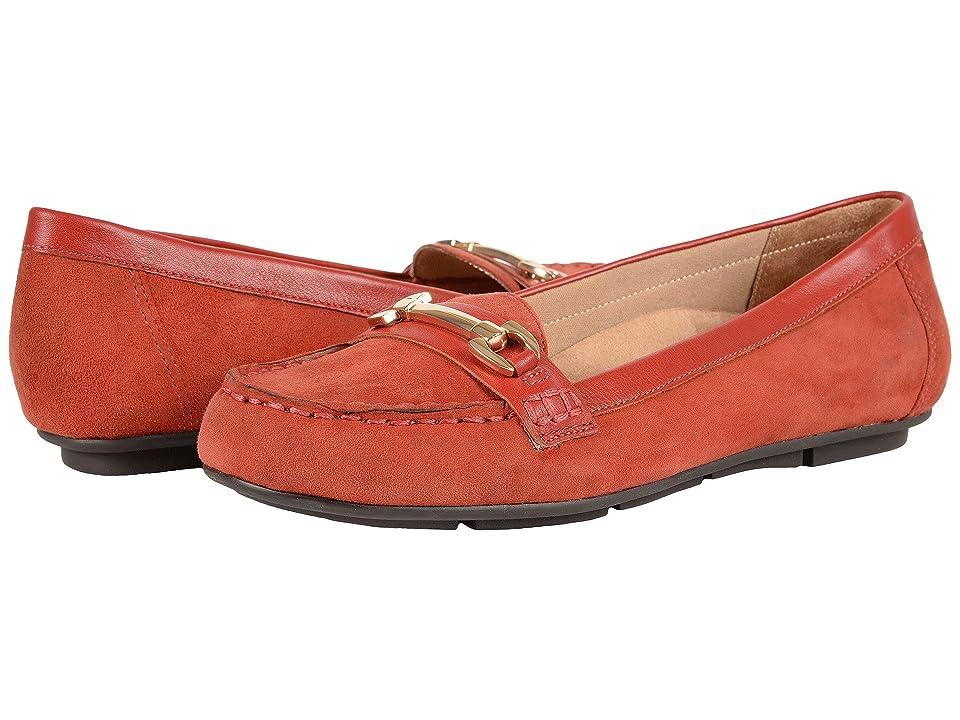 VIONIC Chill Kenya Loafer (Brick) Women