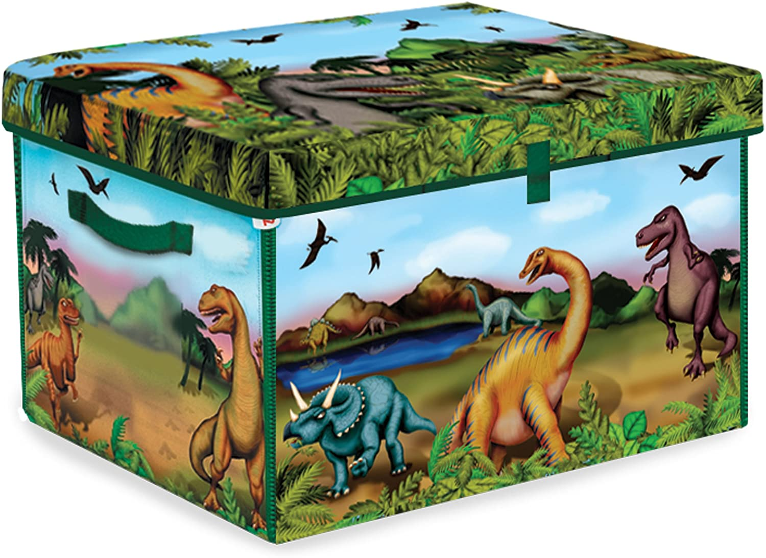 ZipBin 160 Dinosaur Collector Toy Box Dinosaurs w set 2 Play Super Special SALE Bombing free shipping held