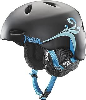 Bern Unlimited Women's Berkeley Matte Finish Lindsey Jacobellis Pro Model Snow Helmet with Black Liner