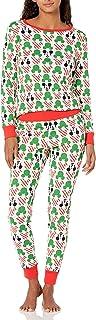 Mujer Disney Star Wars Marvel Conjuntos de pijamas de algodón con corte ajustado