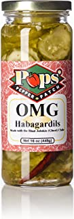 Pops Pepper Patch Spicy Sweet Dill Pickle Chip Ghost Pepper Habagardil (OMG)