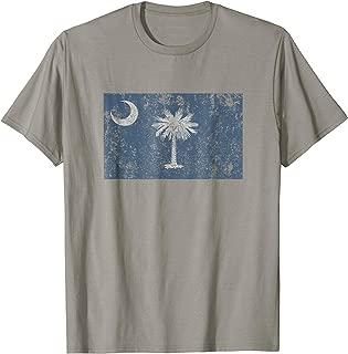 South Carolina Flag The Palmetto State Charleston T Shirt