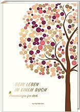 DEIN LEBEN IN EINEM BUCH (beige): Erinnerungsbuch Baby zur Geburt für 18 unvergessliche..