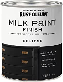 Rust-Oleum 331052 Milk Paint Finish, Quart, Eclipse
