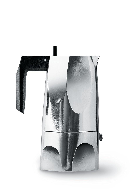 仕様ブランチバナナ【正規輸入品】 ALESSI アレッシィ OSSIDIANA エスプレッソコーヒーメーカー 3カップ用 MT18/3