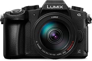 Panasonic Lumix DMC-G81HEG-K - Fotocamera 4 K con obiettivo MFT 14-140 mm, 16 MP, Dual I.S, AF ibrido a contrasto, fotocam...