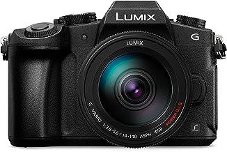 Panasonic LUMIX DMC-G81HAEGK Systemkamera 4K mit 14-140 mm MFT Objektiv, 16 MP, Dual I.S, Hybrid-Kontrast-AF, 4K Fotokamera, schwarz