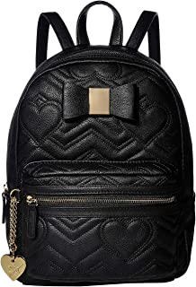Backpack with Dangle Black One Size