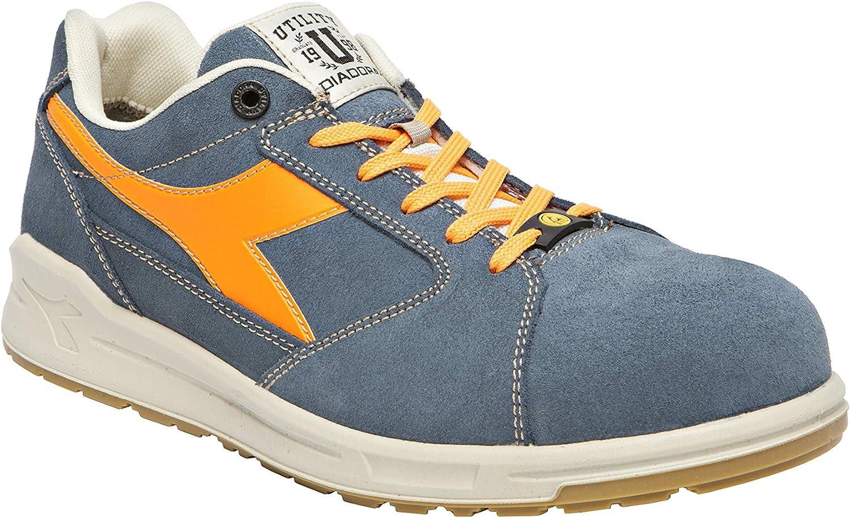 D-Jump Low S3 SRC ESD Safety shoes bluee orange Size 35