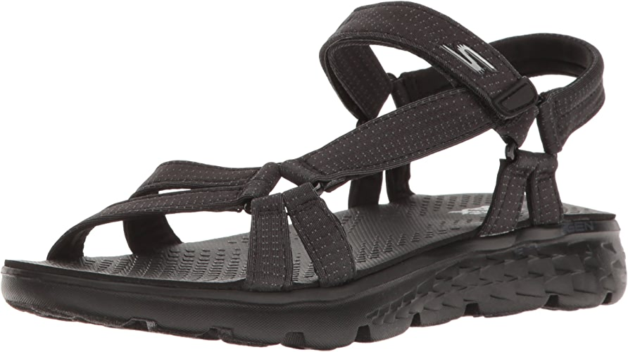 Skechers on The Go 400 Radiance, Sandales Bout Ouvert Femme