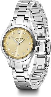 Victorinox Swiss Army Womens Quartz Watch, Analog Display and Stainless Steel Bracelet - 241917