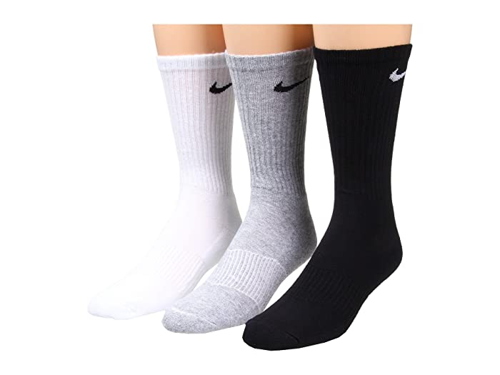 06cb32a7f Nike Cotton Cushion Crew with Moisture Management 3-Pair Pack at ...