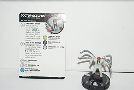 M//NM with Card Marvel Earth X HeroClix Doctor Octopus 034