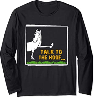 Funny Horse Lover Tshirts Gift Long Sleeve T-Shirt