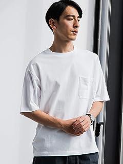 [グリーンレーベルリラクシング] ★SC テーパードヘム クルー 半袖 Tシャツ 32171994665 メンズ
