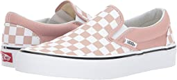 (Checkerboard) Mahogany Rose/True White