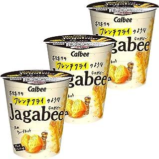 カルビー ホクホクのフレンチフライのようなJagabee ブラックペッパー味 35g ×3個