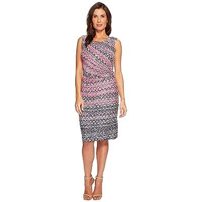 NIC+ZOE Spiced Up Twist Dress (Multi) Women