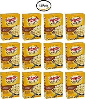 PACK OF 12 - Velveeta Skillets Creamy Beef Stroganoff One Pan Dinner Kit 11.6 oz. Box