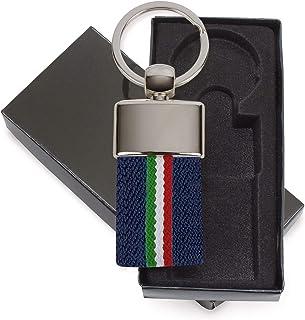 Noir Tuning Porte-cl/és Argent/é vernis noir 100/% Fabriqu/é en Italie