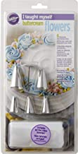 Wilton 19pc Taught Myself Buttercream Icing Flowers Cake Decorating Piping Tools