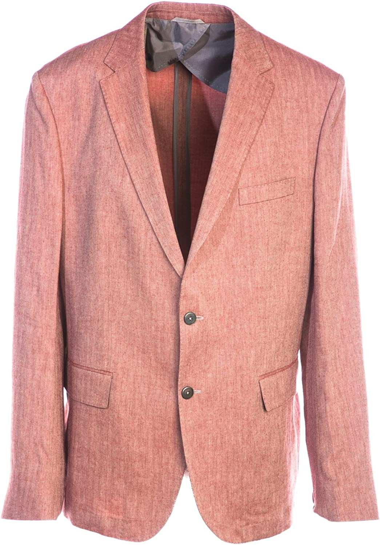 BOSS Nobis Jacket in Terracotta