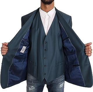 Blazer Vest 2 Piece Blue Martini Wool