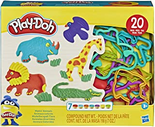 Play-Doh Makin' Animals Create It Kit for Kids 3 Years and Up with 7 Non-Toxic Colors