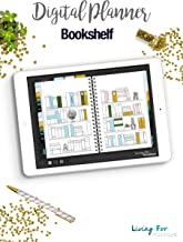 Digital Journal Bookshelf for your Digital Planner (GoodNotes): Plan your Success!