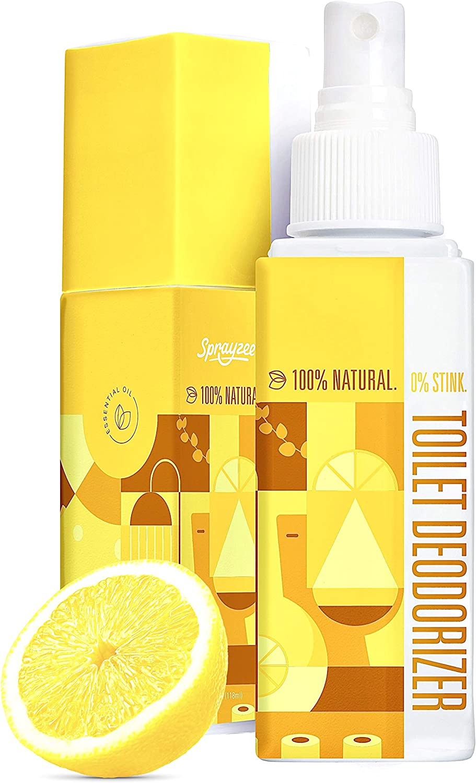 100% Natural Toilet Ranking TOP16 Cheap sale Spray for Poop 600 Air Freshener + Bathroom