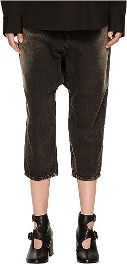 Y's by Yohji Yamamoto U-Gusset Drop Jeans