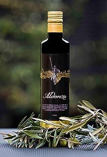 ALDONZA - Aceite de Oliva Virgen Extra - 250 ml. - Primera Extracción en frío. (España)