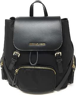 Abbey Large Cargo Nylon Backpack Black