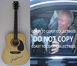 Clint Eastwood Honkytonk Man signed autographed Acoustic guitar, COA with the Proof Photo will be incuded. STAR