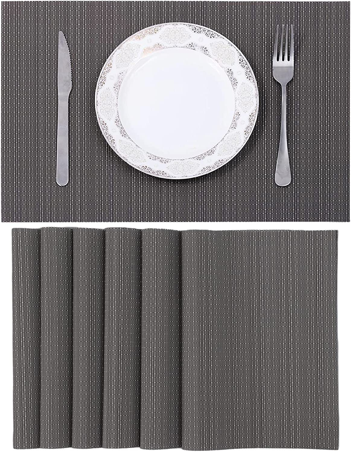 Max Safety and trust 62% OFF Placemats for Dining Table - Washable Modern Clean Durable Easy
