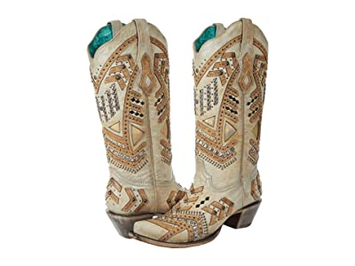Corral Boots A3942 (White) Women