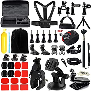 50-In-1 Universal Outdoor Sports Action Camera Accessories Kit Set for AKASO Gopro Hero Sony