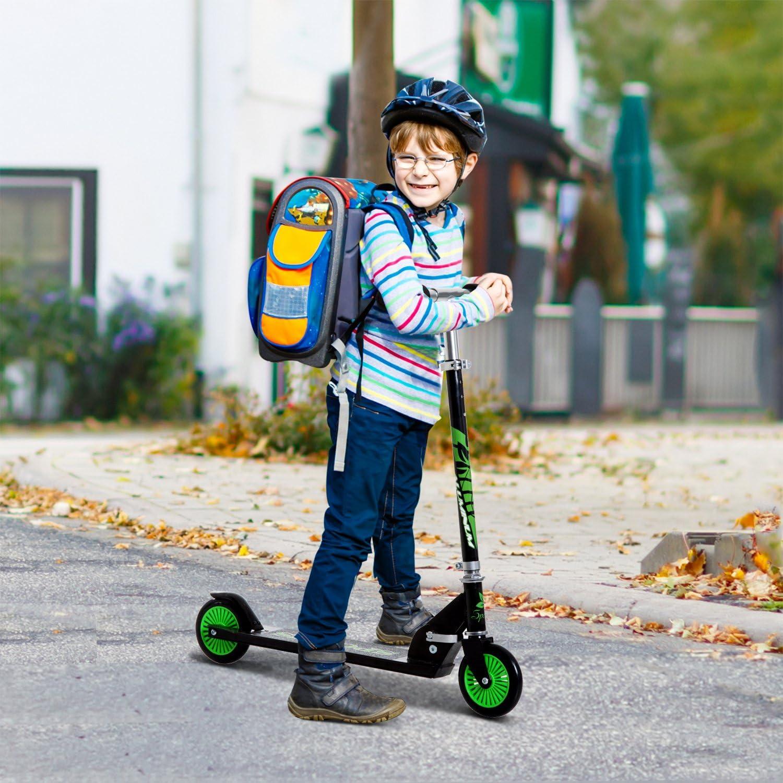 HOMCOM Patinete para Niños Scooter de Evolución Plegable ...