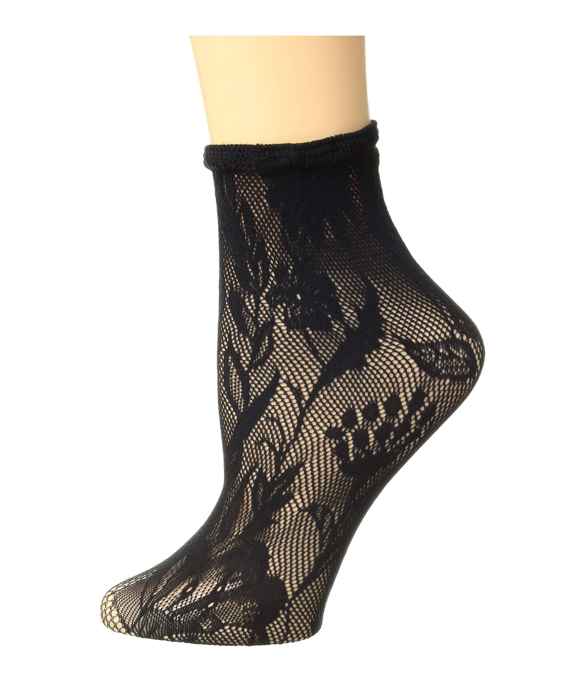 Net Wolford Wolford Wildflower Black Net Socks Socks Wildflower fHn4tZ