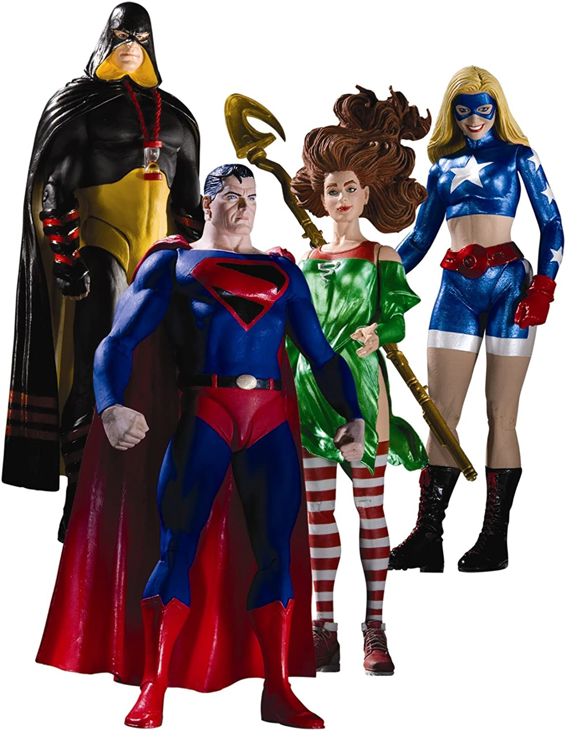 DC Comics Justice Society of America  Series 2 Action Figure Set