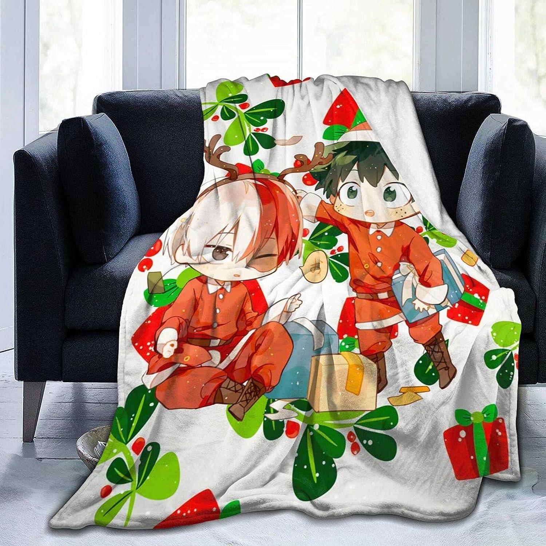 ECHOECVFG My Hero Academia 25% OFF Tododeku and Navidad Throw Warm Soft Ranking TOP11