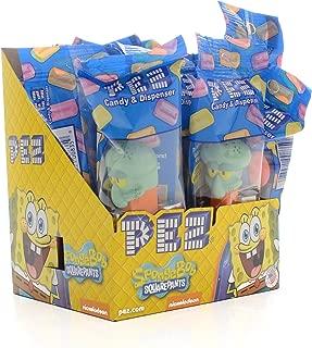 Pez Sponge Bob Square Pants Assortment !