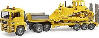 Bruder 02778 Man TGA Loader Truck with CAT Bulldozer
