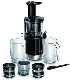 Bosch VitaExtract MESM731M Extracteur de Jus – Extraction lente pour réduire l'oxydation – Contrôle du niveau de pulpe et ...