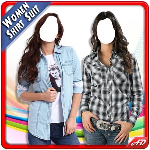 Women Shirt Photo Montage