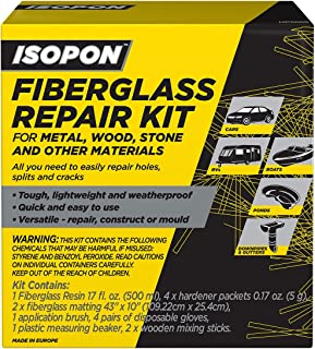 Isopon Fiberglass Repair Kit