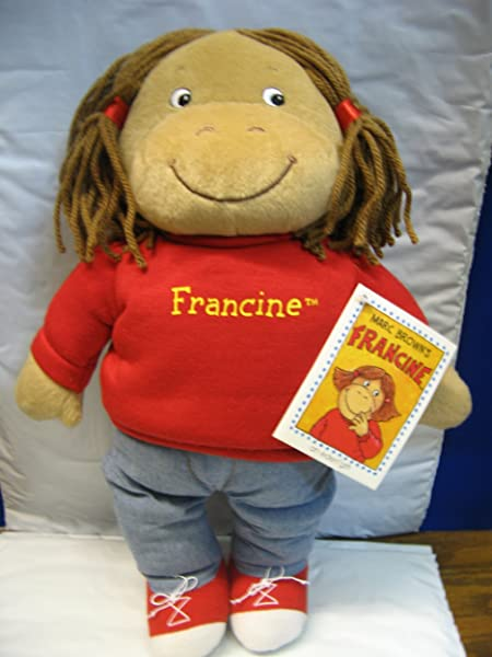 Francine Plush Doll A Character From Arthur S Adventures Children S Literature Series By Marc Brown