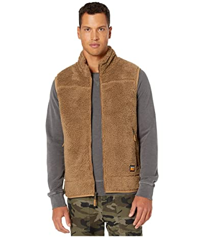 Timberland PRO Frostwall Wind-Resistant Full Zip Vest (Dark Wheat) Men